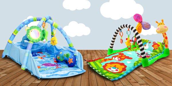 Hrací deky pro děti