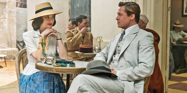 2 vstupenky na film Spojenci do kina Lucerna