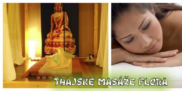 475 Kč za příjemnou 90minutovou olejovou thajskou masáž v hodnotě 950 Kč!