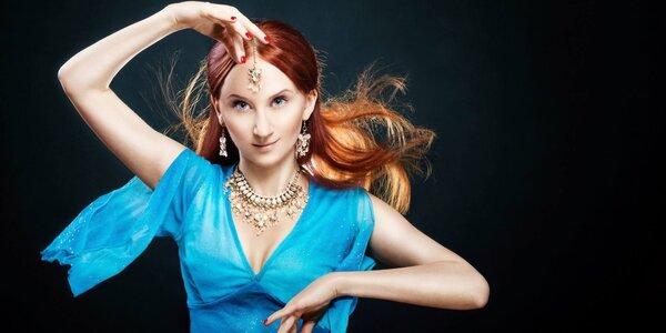 3 lekce orientálního tance pro začátečnice