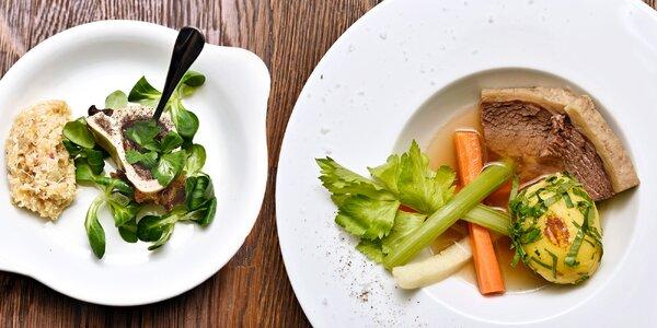 Rakousko na talíři: Degustační menu o 4 chodech