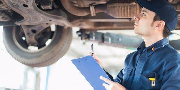 Přezutí a prohlídka vozidla + diagnostika