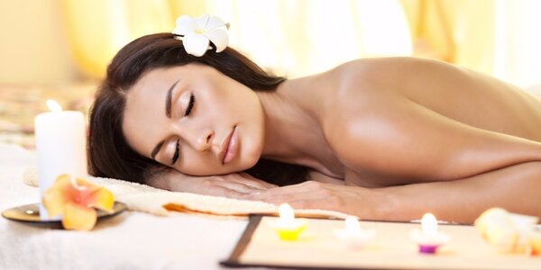 Jarní masáž + peeling a prohřátí lávovými kameny