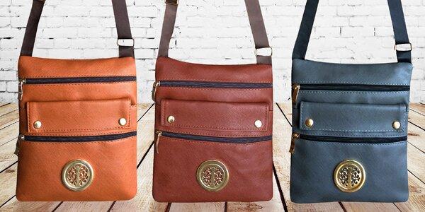 Dámská crossbody kabelka v pěti barvách