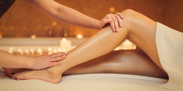60minutová anticelulitidní masáž nohou
