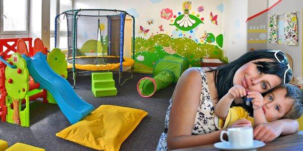Návštěva herničky pro děti vč. nápojů a dortu