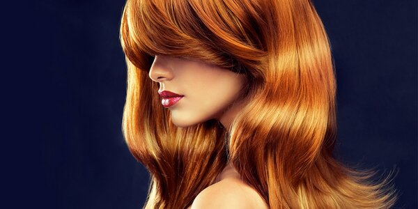 Střih a zábal vlasů s konečnou úpravou