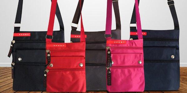Sportovní crossbody taška pro ženy i muže