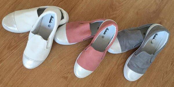 Dámská jarní obuv pro volný čas