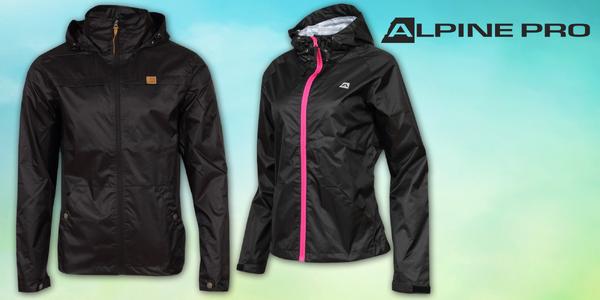 Lehké a praktické jarní bundy Alpine Pro