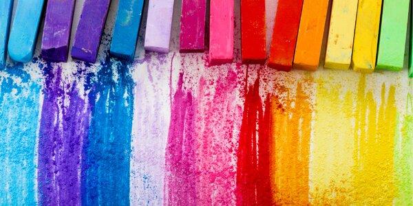 3hodinový kreativní kurz kreslení suchým pastelem