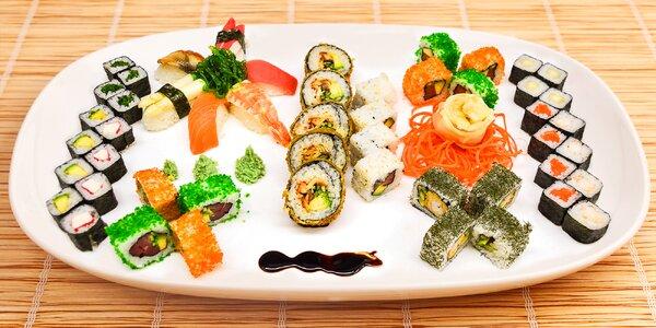 Tak chutná Asie: vyladěný sushi set v centru