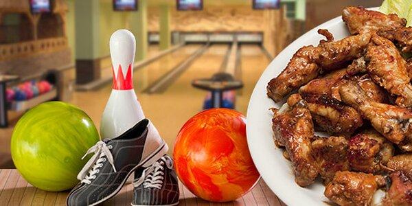 Bowling a křidélka nebo miniřízečky
