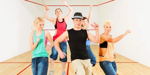 5 lekcí latino fitness dance pro ženy