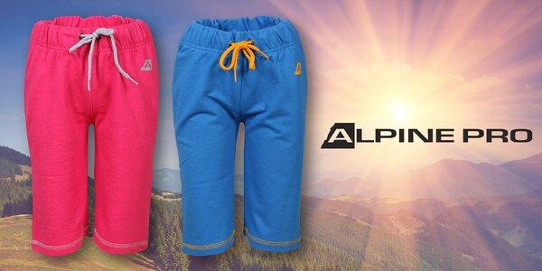 Dětské teplákové 3/4 kalhoty od Alpine Pro