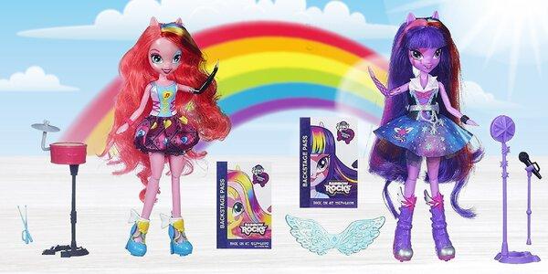 My Little Ponny Equestria Girls: Panenky s módními doplňky nebo zpívající…