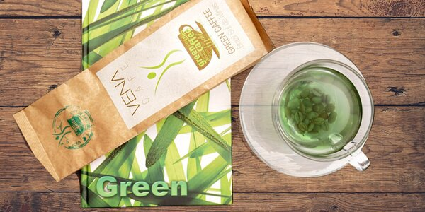 200 g zelené kávy Arabica VENA CAFE