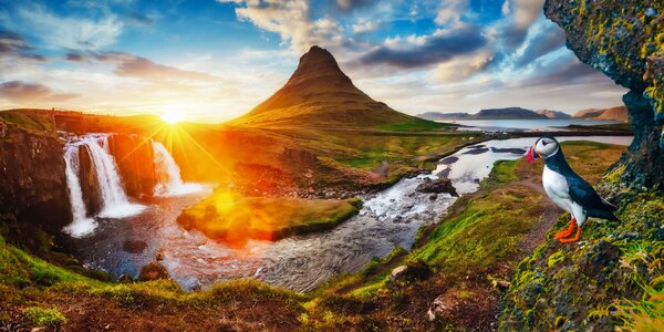 Dobrodružný okruh po Islandu: trajekt i noclehy