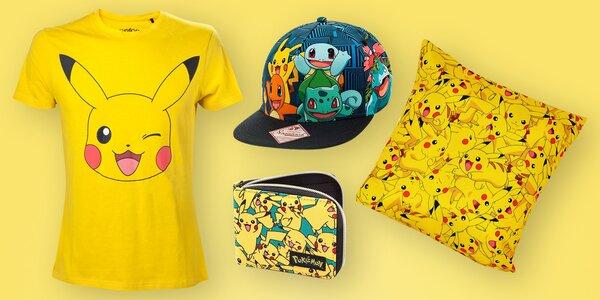Oblečení a doplňky z oficiální kolekce Pokémon
