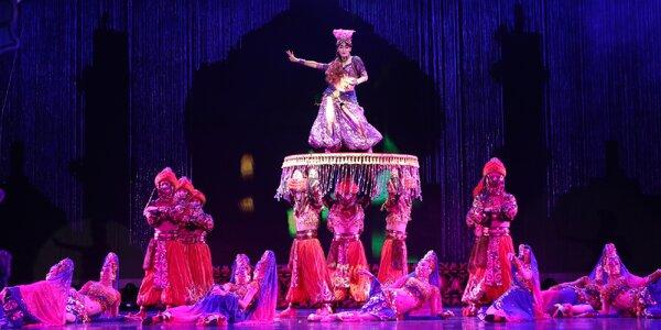 Vstup na velkolepou čínskou akrobatickou show