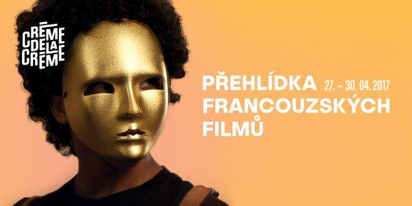 2 vstupenky na přehlídku francouzských filmů