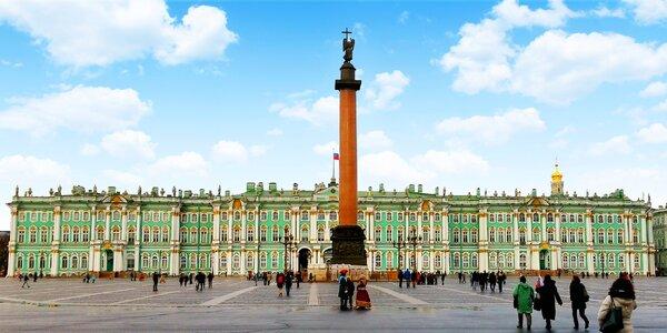 Petrohrad s česky mluvící místní průvodkyní