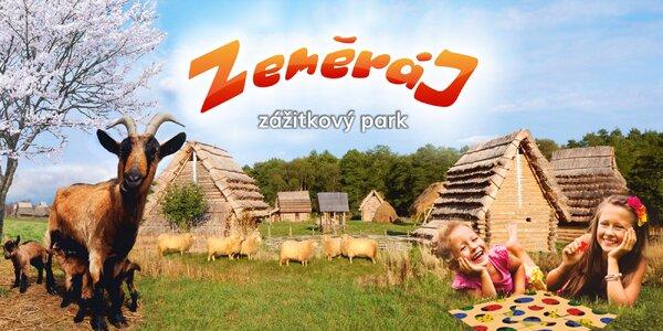 Den nabitý zážitky v parku Zeměráj u Orlíku
