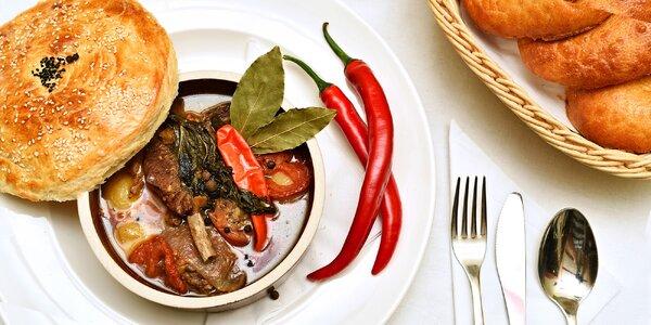 Uzbecké degustační menu: 4 chody pro 2 gurmety