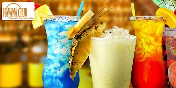 2 nebo 4 jakékoli drinky v baru Havana Club