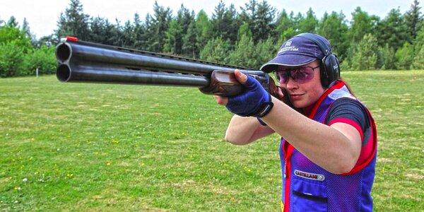 Střelba ze sportovní brokové kozlice