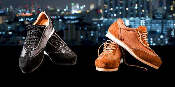 Stylové unisex boty z eko kůže