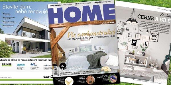 Roční předplatné časopisu Home pro váš byt, dům i zahradu