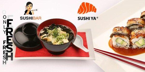 655 Kč za vynikající sushi Royal set!