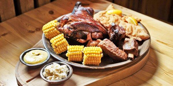 Staročeská masová hostina pro 4 jedlíky