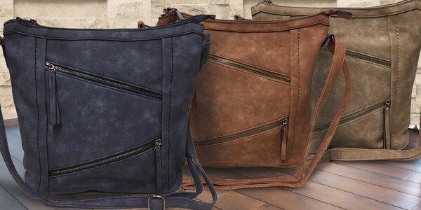 Dámské kabelky s řadou praktických kapes