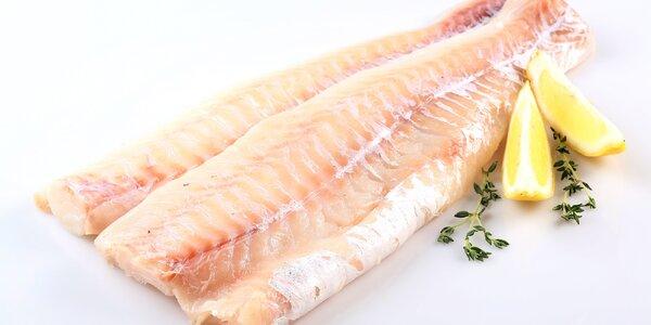 Filety z aljašské tresky v kilovém balení