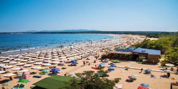 Pohoda u moře v Bulharsku včetně dopravy