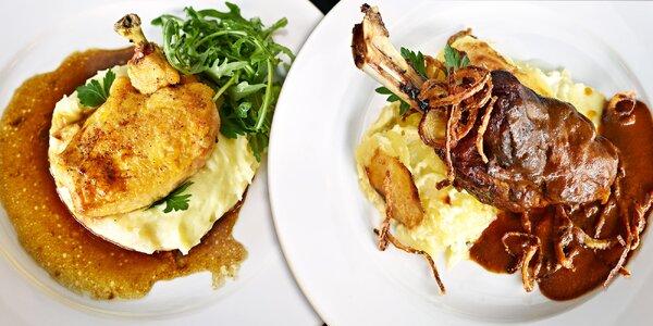 Kulinářský zážitek: 3chodová večeře pro dva