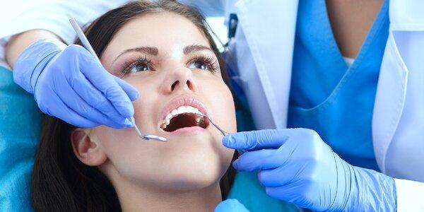 Dentální hygiena a případně i bělení zubů