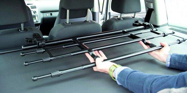 Bezpečnostní teleskopická přepážka do kufru auta