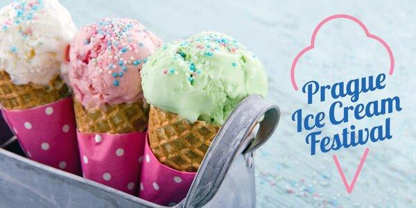 Vstup na zmrzlinový Prague Ice Cream Festival