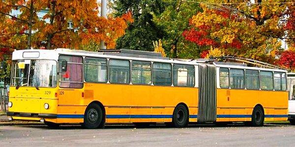 Projížďka historickým trolejbusem Škoda Sanos