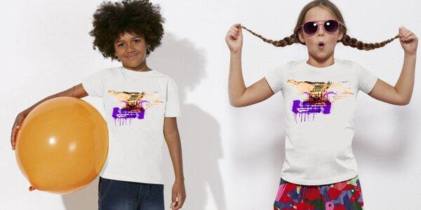 Dětská trička od trabanťáka Dana Přibáně