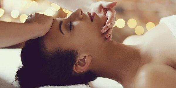Liftingová masáž obličeje a dekoltu