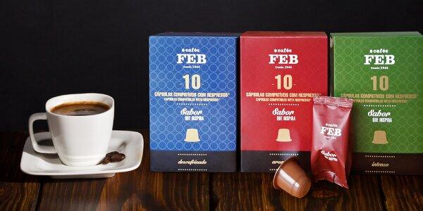 Kapsle s voňavou kávou do kávovaru Nespresso