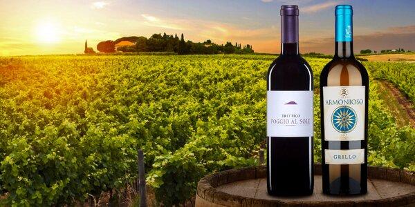 Vybraná vína z rodinných vinařství v Itálii