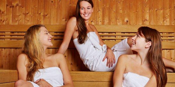 Privátní relax v sauně s vonnými oleji a zábal