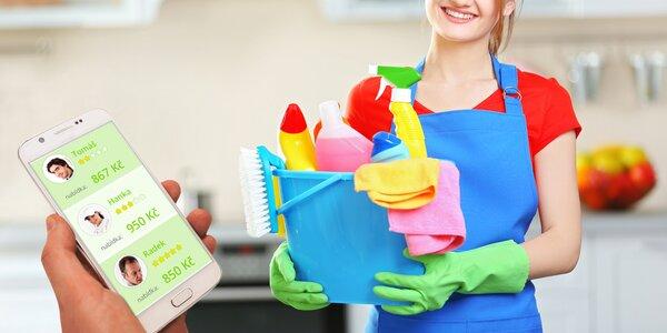 Voucher na úklid domácnosti a domácí práce