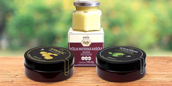 Kosmetika s mateří kašičkou nebo včelím jedem
