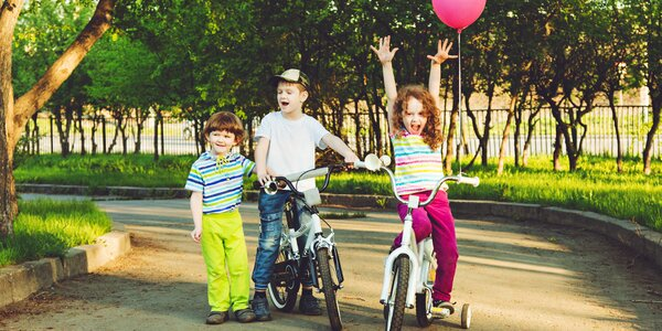 1denní cyklistický camp pro děti plný zábavy